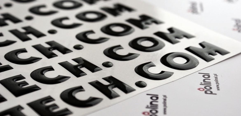 Prezentujemy nowy sposób oznakowania litery wypukłe 3D - napisy wypukłe.